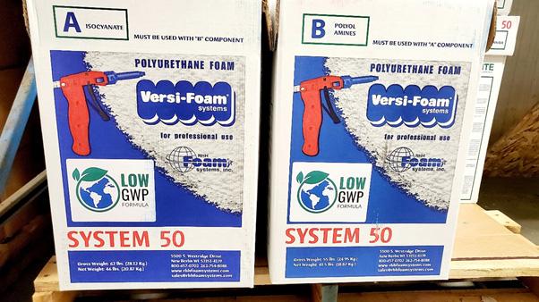 Versi-Foam Application Temperature